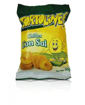 GOYA CHIFLE SAL TORTOLIN 50G